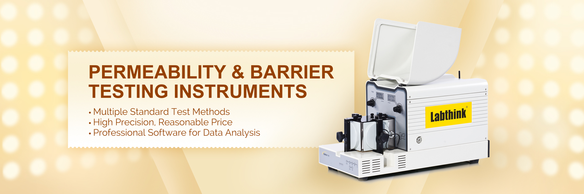Permeability & Barrier Testing Instruments